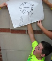 interactive group contour drawing