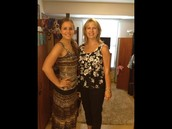Me and my mom my freshman year at CofC