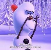 funny sayings Olaf says