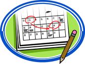 Mrs. Martin's Schedule