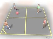 play the best Game four square.
