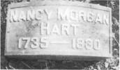Nancy Hart's Grave. 1735-1830