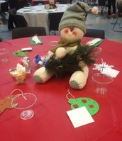 Decorations and set-up by Novi Middle School Students