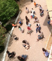 Vista lateral desde la terraza 2ª planta