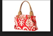 How Does she do it: red ikat