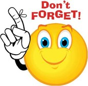 FINALS WEEK - December 15, 16, 17,  & 18 with dismissal at 1:10 pm