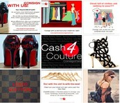 Online consignment shops sell clothing