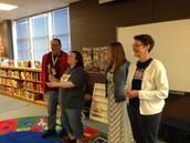 Mr. Hainey, Mrs. Pope, Mrs. Rains, & Mrs. Olsen