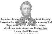 Henry David Thoreau's Poem