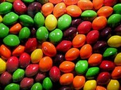 These skittles are the best sellers in our candy shop.