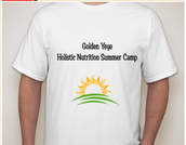 Golden Yeye Holistic Nutrition Summer Camp T-shirt