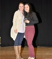 Mrs. Franchetti and Katrina Datil