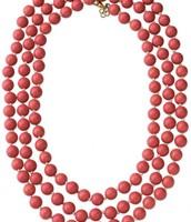 La Coco beads (coral)
