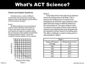 What is in the Science Test?