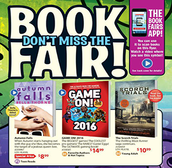 Preview the Flyer of Books Featured at the Book Fair
