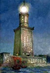 About the Lighthouse of Alexandria