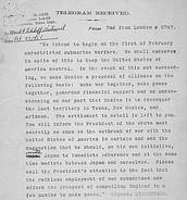 The Zimmerman Telegram (January 16, 1917)