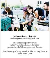 Melrose Poetry Bureau