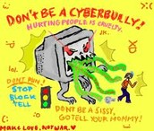 Cyberbullying can hurt people very badly