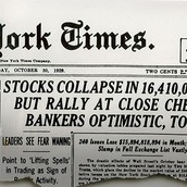 Stock market crash article
