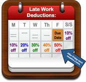Late Work Policy Reminder!