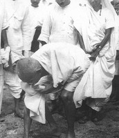Gandhi at the Salt March