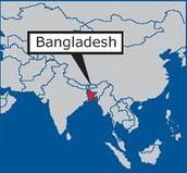 Bangladesh's Location