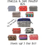 Choose a Pouf for $24 / or 3 for $60