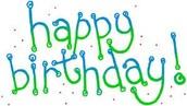 Happy Birthday, Ms Selle.