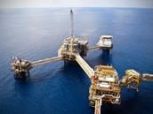 OIL DRILLING IN THE OCEAN