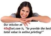 Print online for less at 40offset.com
