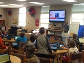 Library Orientation with Mrs. Morgan