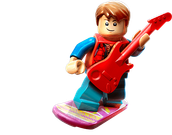 Lego dimensions: Marty Mcfly