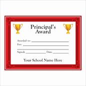 Principal Award