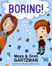 BORING! Is a Fun Rhyming eBook for children.