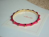 JULEP BANGLE - PINK $5 (75% OFF)