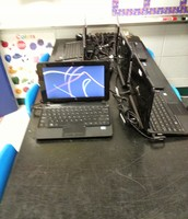 Our netbooks are charged for the day