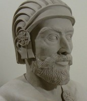 A bust of Cyrus the Great