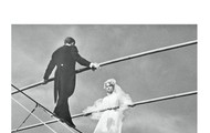 The Tightrope Wedding by Michael Laskey