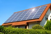 This is a picture of solar panels.
