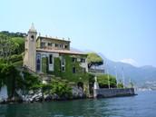 אגם קומו שבלומברדיה
