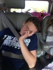 Me gusta dormir