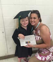Averie graduated from PreK!