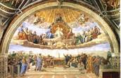 Disputation of the sacrament.
