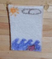 Beach Themed Towel
