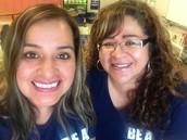 Sra. Sánchez and Sra. Salazar