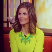 Natalie Morales - Today Show The Linden Necklace