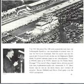 Sen Kaney at the Indianapolis 500