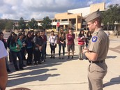 Cary MS Students Visit Texas A&M