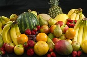Fruits, Vegitables, and most dairy